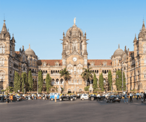 CHHATRAPATI SHIVAJI TERMINUS, MUMBAI, INDIA.