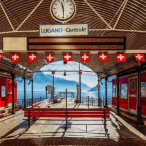 Lugano Centrale Station